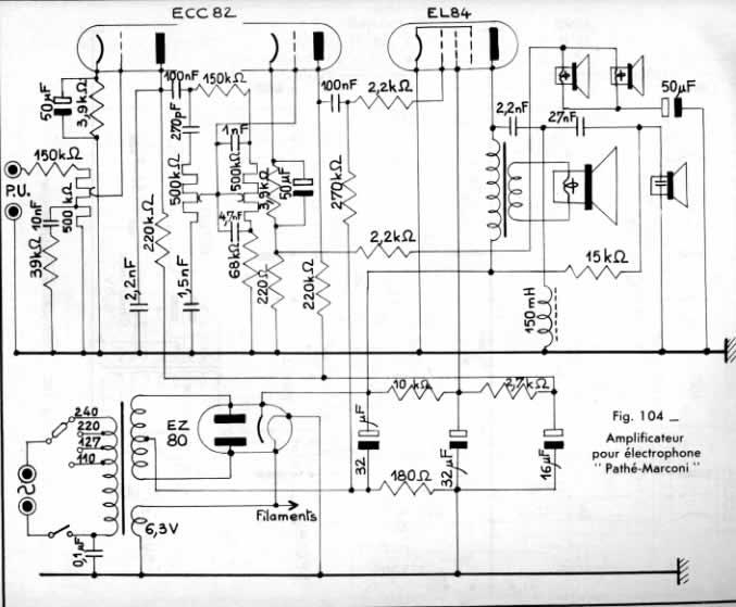 Electrophone Pathé Marconi